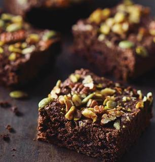 wheat-free vegan brownies